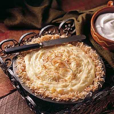 Pina Colada Cream Pie Image