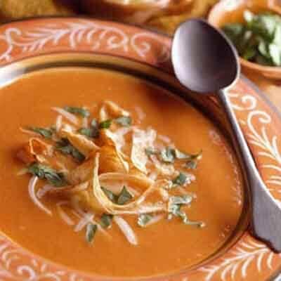 Crispy Tortilla Soup Image