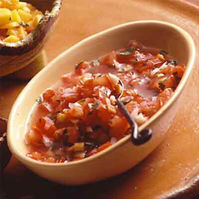 Roasted Tomato & Chiles Salsa Image