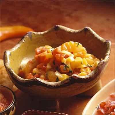 Mango Papaya Salsa Image