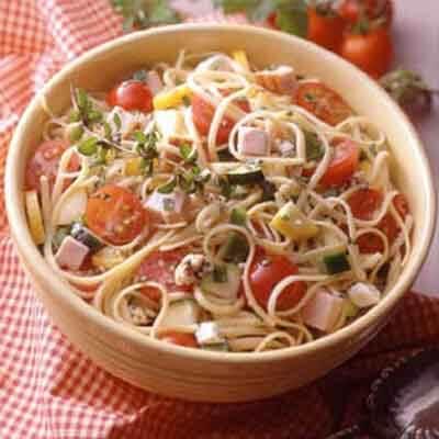 Turkey-Vegetable Pasta Salad Image