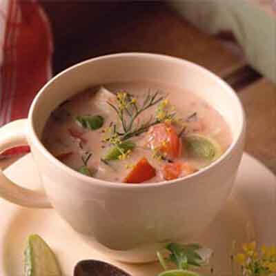 Fresh Tomato-Dill Soup Image