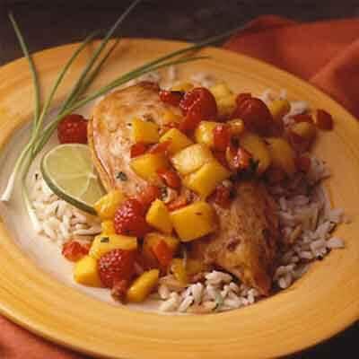 Salsa Sauted Chicken Recipe