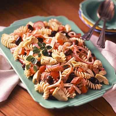 Salami Antipasto Salad Image