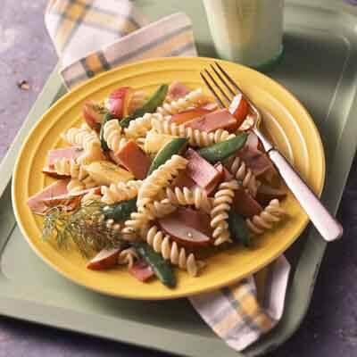 Garden Ham Pasta Toss image
