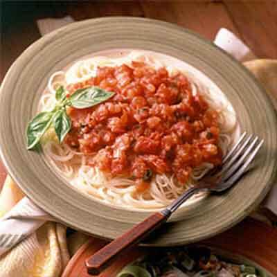 Fresh Tomato-Basil Sauce Image