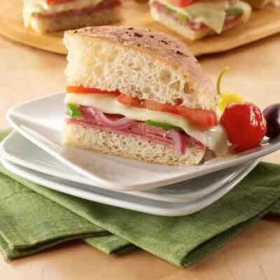 Pizza Hero Sandwich Image