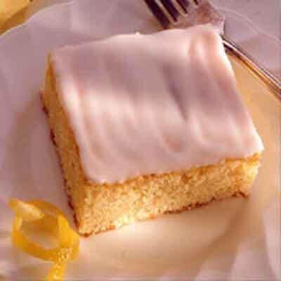 Lemon Ginger Cake Recipe