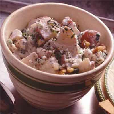 Blue Cheese-Walnut Potato Salad Image
