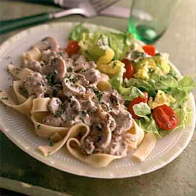 Stroganoff-Style Beef & Noodles Image