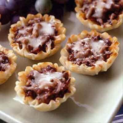 Forest Mushroom Pastry Cups Image