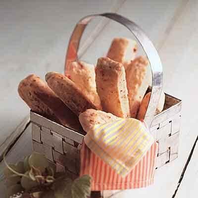 Parmesan Bacon Biscuit Sticks Image