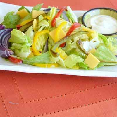 Roasted Pepper & Cheese Salad Image