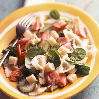 Salmon & Swiss Pasta Salad Image