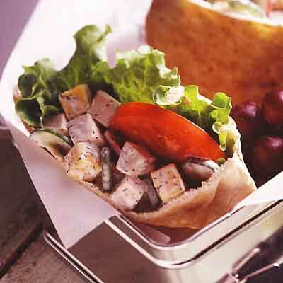 Crunchy Turkey Pitas Image