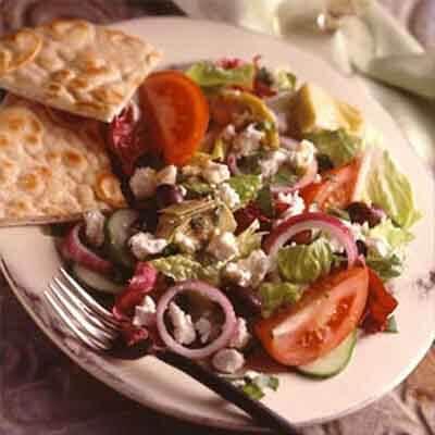 Feta Greek Salad Image