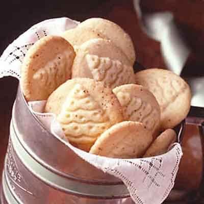 Nutmeg Stamped Cookies Recipes