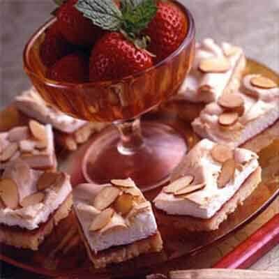 Strawberry Meringue Bars Image