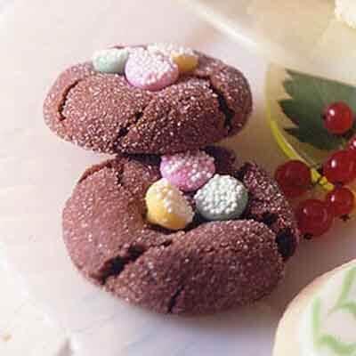 Chocolate Mint Pastel Cookies Recipe