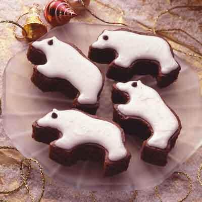 Polar Bear Brownies Image