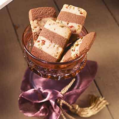 Chocolate & Cherry Stripes Image