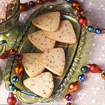 Sparkling Citrus Triangles Image