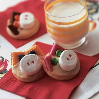 Little Piggy Drop Sugar Cookies Recipe