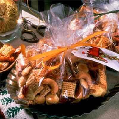 Savory Christmas Snack Toss Image