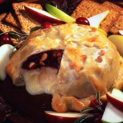 Baked Cranberry Almond Brie Image