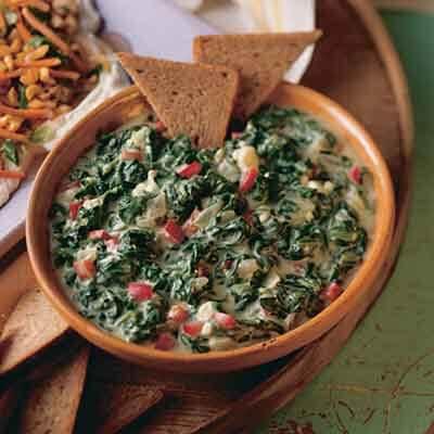 Warm Spinach Dip Image