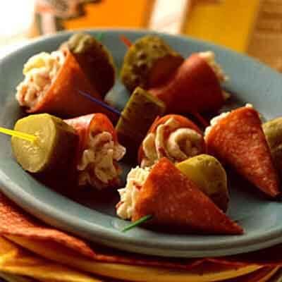 Salami Cones Image