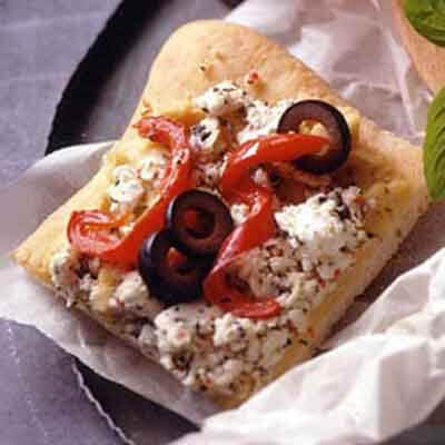 Mediterranean Flat Bread Image