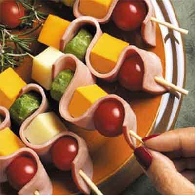 Ham & Cheese Ribbons Image