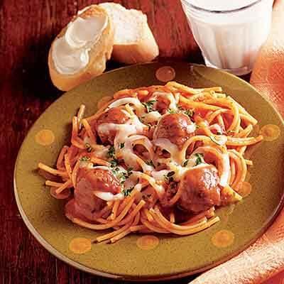 Spaghetti Skillet Supper Image