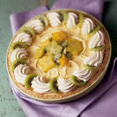 Tropical Ice Cream Pie Image