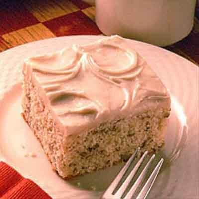 Easy Butter Cake With Browned Butter Frosting Image
