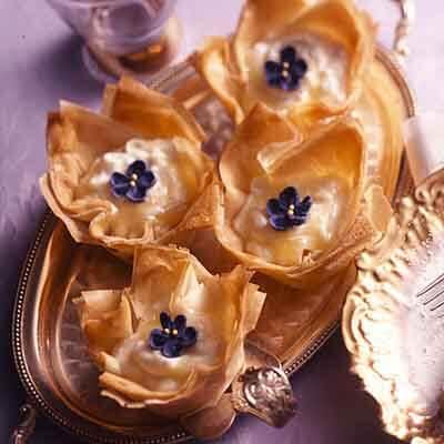 Lemon & Créme Fraîche Phyllo Cups Image