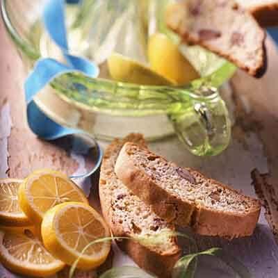 Lemon 'N Pecan Biscotti Image