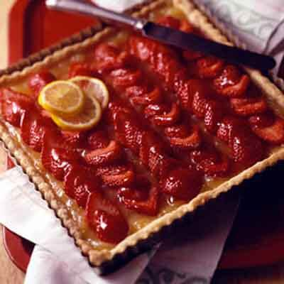 Strawberry Lemon Tart Image