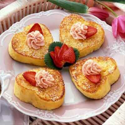 French Toast With Strawberry Butter Image