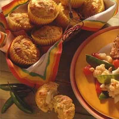 Cheesy Corn Muffins Image