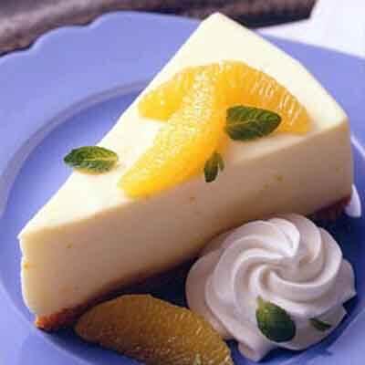 Orange Cheesecake Recipe