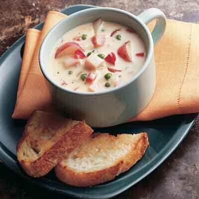 Homestyle Ham 'n Cheese Chowder Image