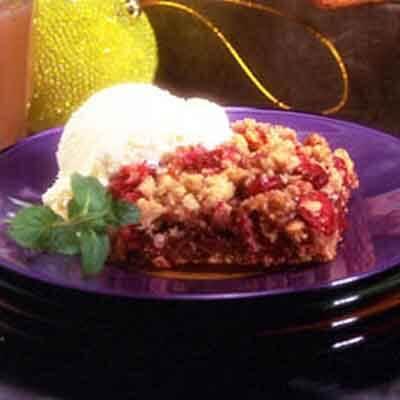 Cranberry Caramel Crisp Image