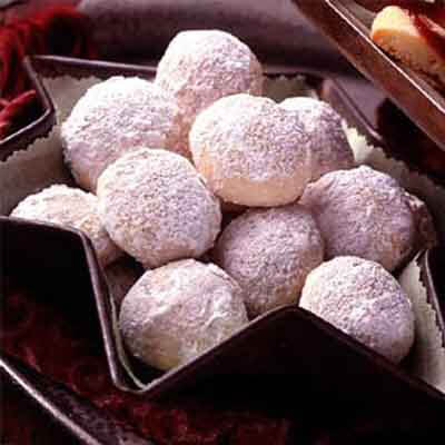 Eggnog Teacakes Image