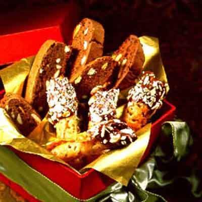 Chocolate Almond Biscotti Image