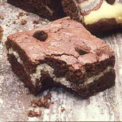 Ultimate Chewy Cream Cheese Swirled Brownies Image