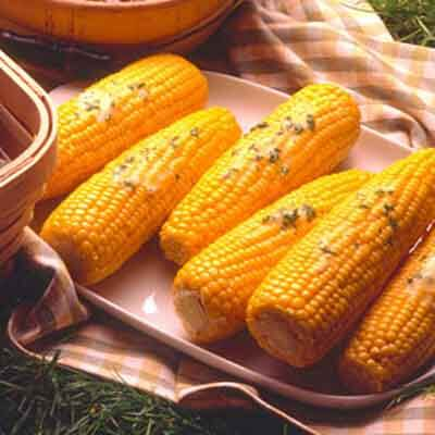 Herb Buttered Corn Image