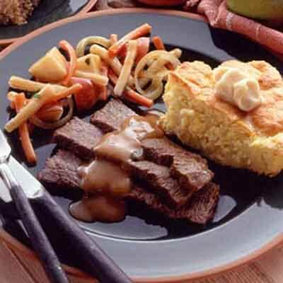 Pot Roast With Root Vegetables Image