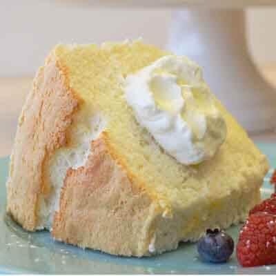 Classic Angel Food Cake Image